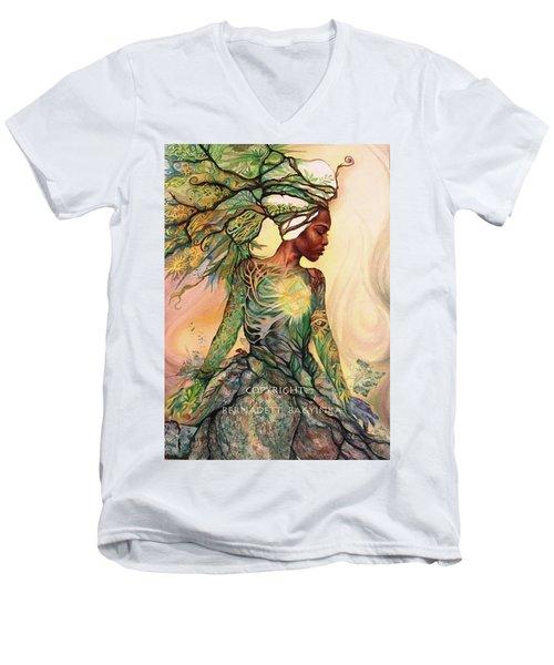 Asase Yaa Men's V-Neck T-Shirt