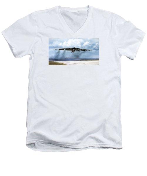 Ascension Men's V-Neck T-Shirt by Peter Chilelli