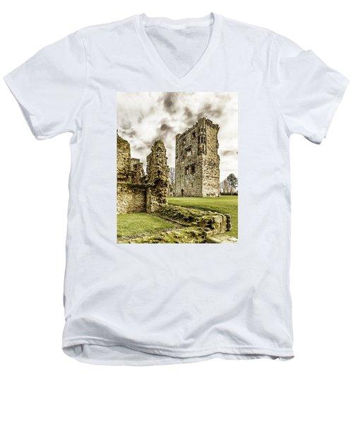 Ashby Castle Men's V-Neck T-Shirt