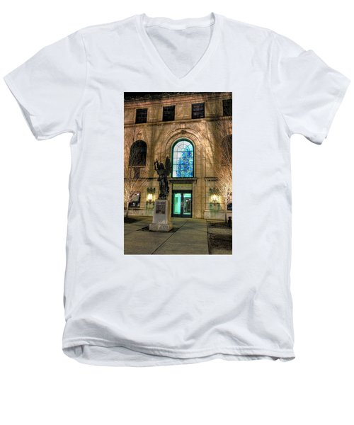 Asheville Art Museum Men's V-Neck T-Shirt