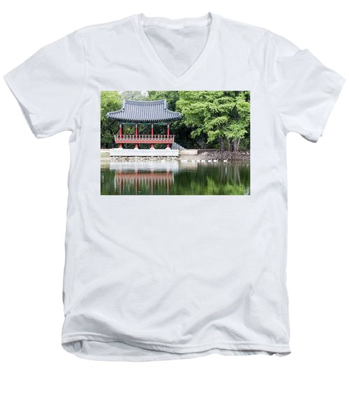 Asian Theater Men's V-Neck T-Shirt