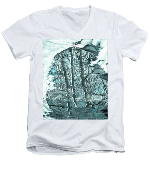 Aspen Reflection Men's V-Neck T-Shirt