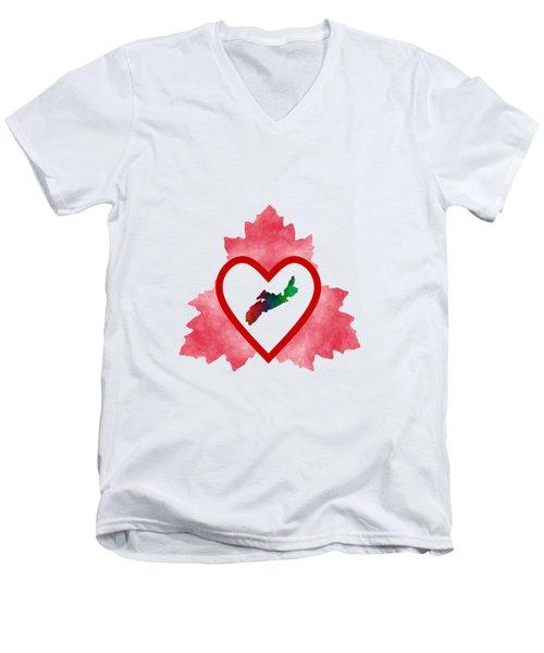 Atlantic Canada Men's V-Neck T-Shirt