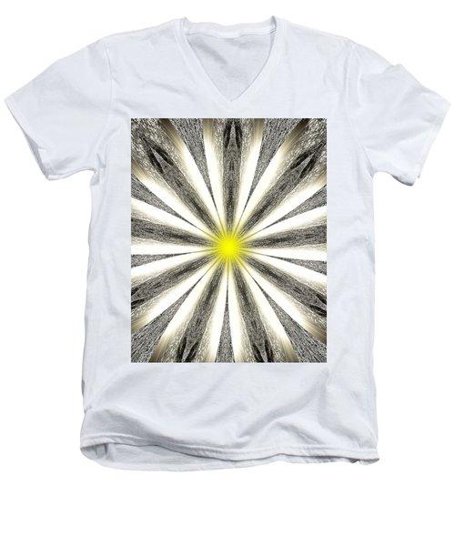 Atomic Lotus No. 4 Men's V-Neck T-Shirt