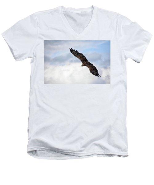 Attack Run Men's V-Neck T-Shirt