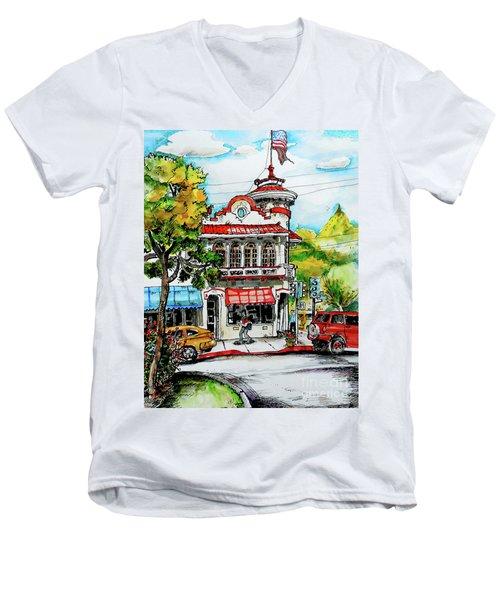 Auburn Historical Men's V-Neck T-Shirt