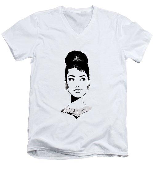 Audrey Men's V-Neck T-Shirt