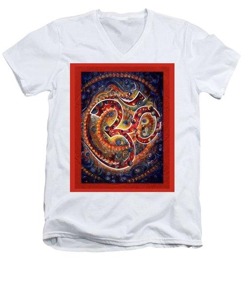 Aum - Vibrations Of Supreme Men's V-Neck T-Shirt