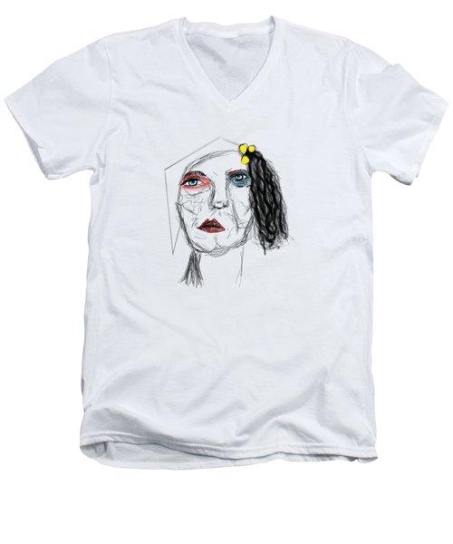 Aunt Bessie Men's V-Neck T-Shirt