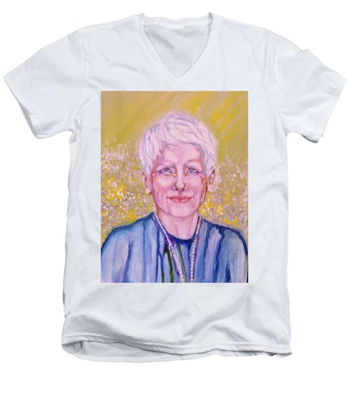 Aunt Betty Men's V-Neck T-Shirt