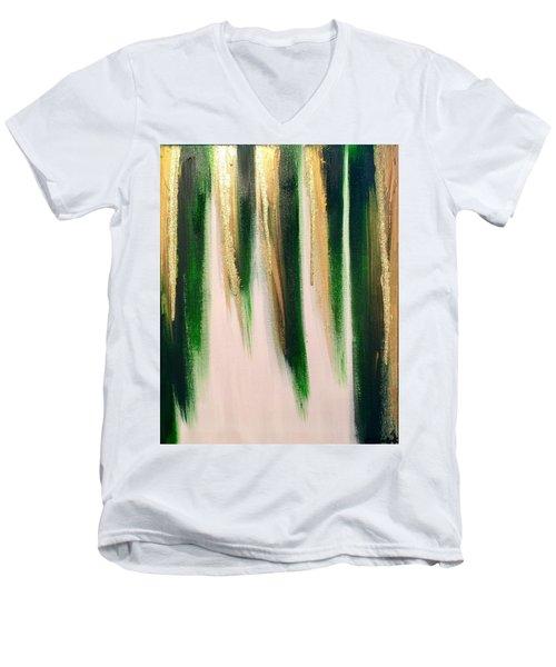 Aurelian Emerald Men's V-Neck T-Shirt