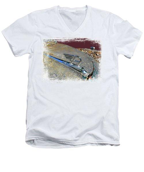 Austin A40 Somerset Flying A Men's V-Neck T-Shirt