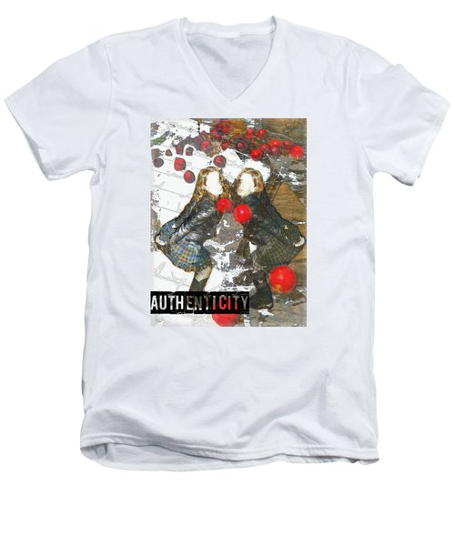 Authenticity Men's V-Neck T-Shirt