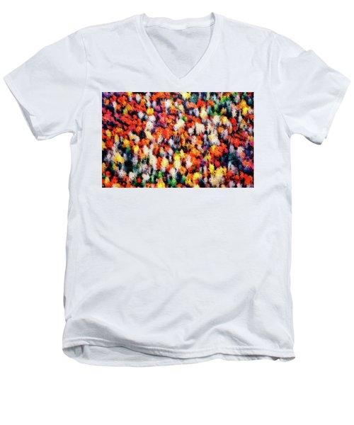 Autumn Colors Men's V-Neck T-Shirt