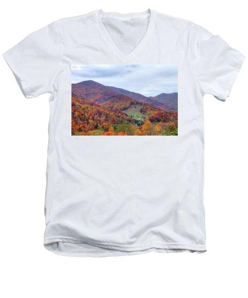 Autumn Farm Men's V-Neck T-Shirt