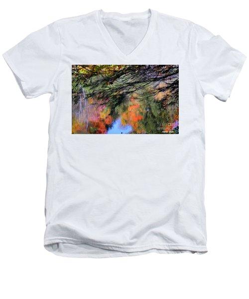 Autumn Glory Men's V-Neck T-Shirt