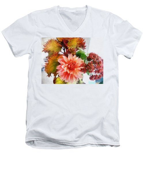 Autumn Joy Men's V-Neck T-Shirt
