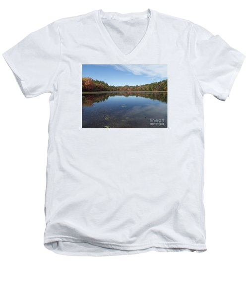 Autumn On Hawkins 2015 Men's V-Neck T-Shirt