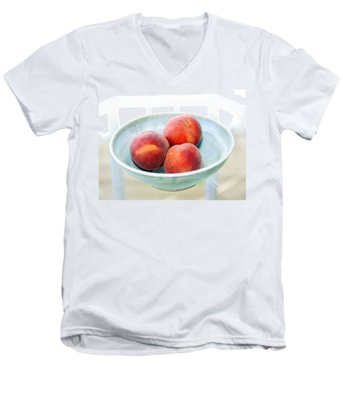 Autumn Peaches Men's V-Neck T-Shirt