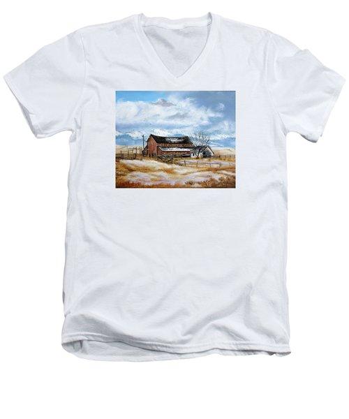 Autumn Slips Away Men's V-Neck T-Shirt