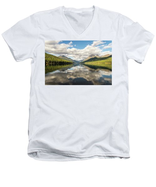 Avenue To The Mountains Men's V-Neck T-Shirt