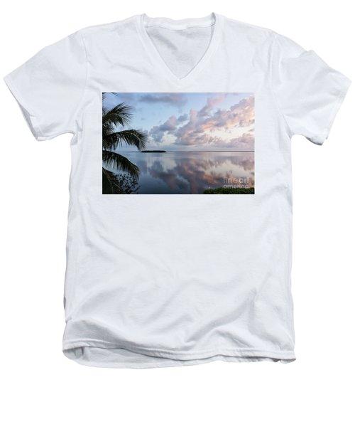 Awakening At Sunrise Men's V-Neck T-Shirt