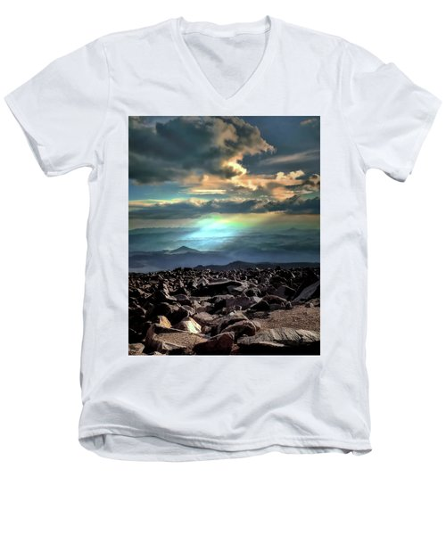 Awareness ... Men's V-Neck T-Shirt
