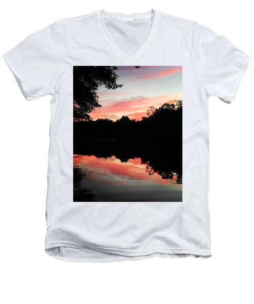 Awesome Sunset Men's V-Neck T-Shirt