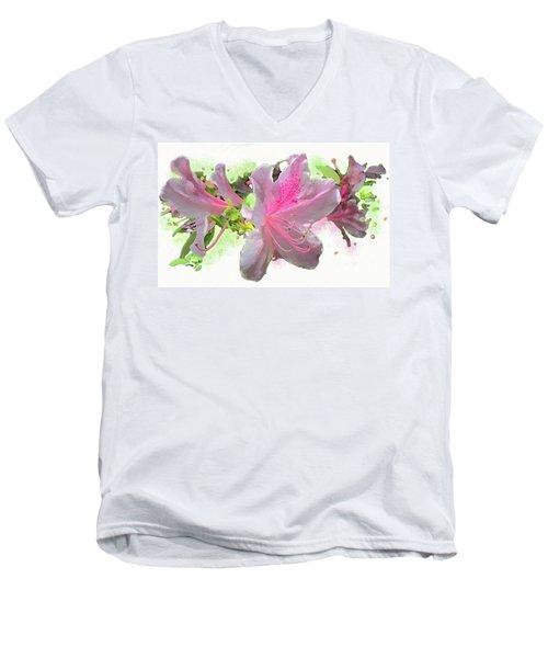 Azalea #2 Men's V-Neck T-Shirt
