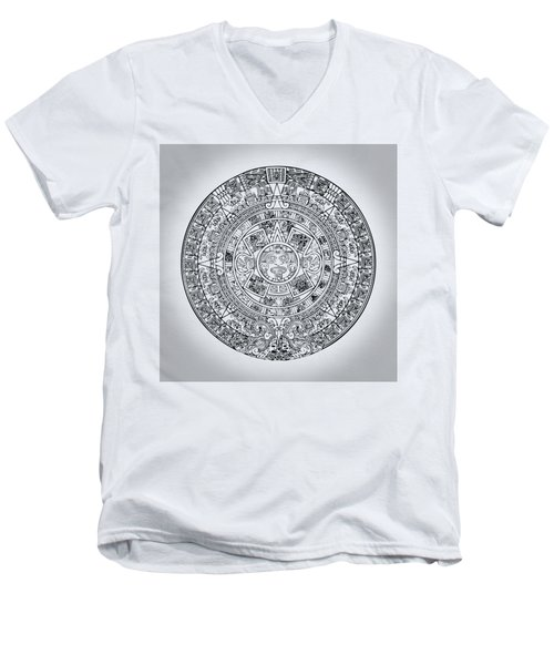 Aztec Sun Men's V-Neck T-Shirt