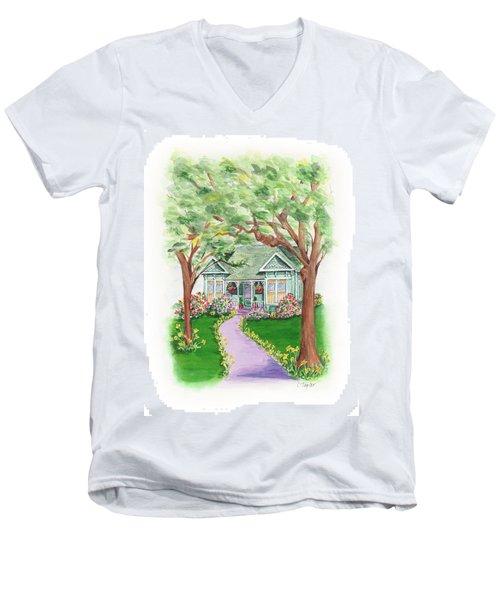 B Street  Men's V-Neck T-Shirt