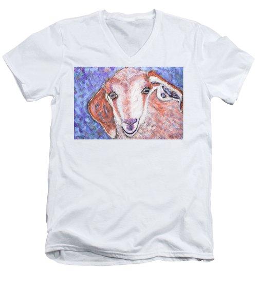 Baby Goat Men's V-Neck T-Shirt