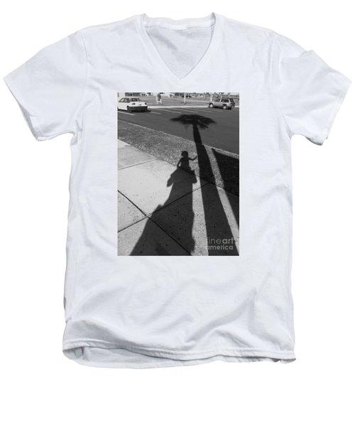 Baby Palm Men's V-Neck T-Shirt