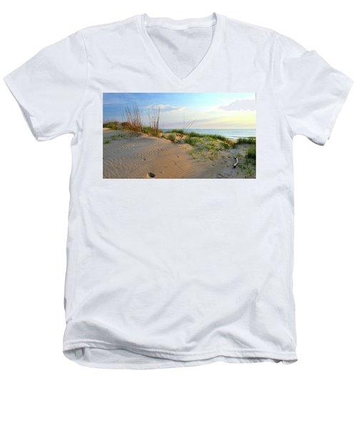 Back Bay Dunes Men's V-Neck T-Shirt