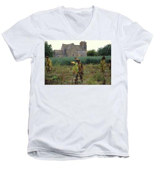 Back From Church Men's V-Neck T-Shirt