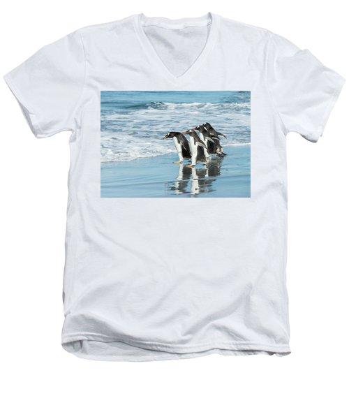 Back To The Sea. Men's V-Neck T-Shirt