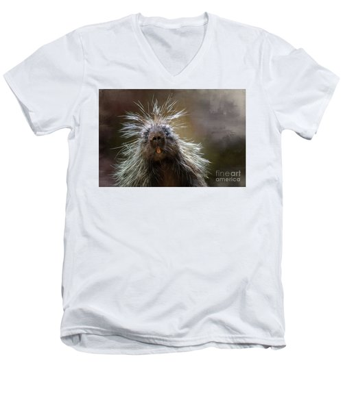 Bad Hairday Men's V-Neck T-Shirt