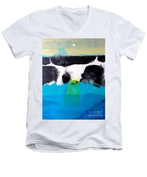 Bad Moon Rising Men's V-Neck T-Shirt