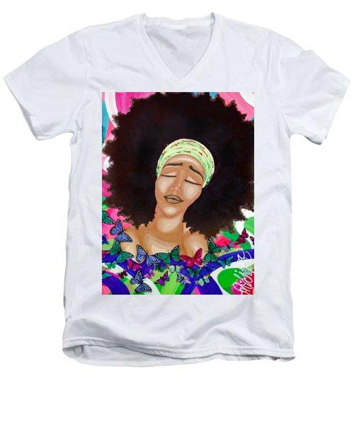 Balinda Men's V-Neck T-Shirt