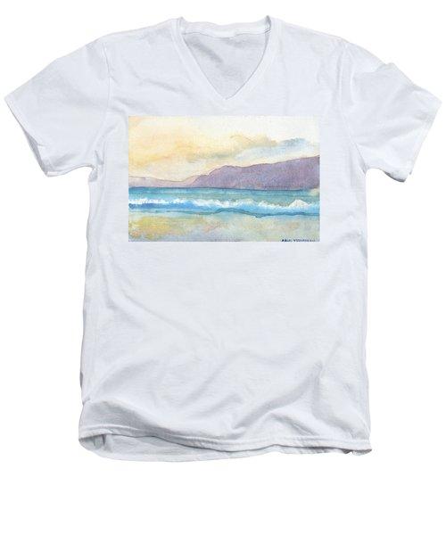 Ballenskelligs Beach Men's V-Neck T-Shirt