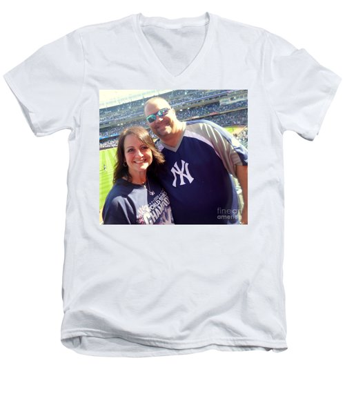 Ballgame1 Men's V-Neck T-Shirt