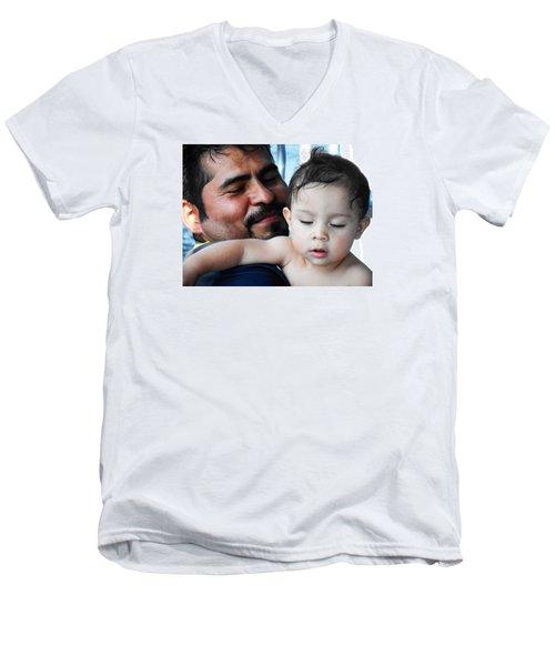 Bambino 4 Men's V-Neck T-Shirt