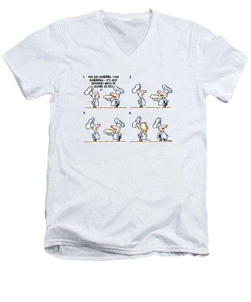 Banana Cream Pie Men's V-Neck T-Shirt