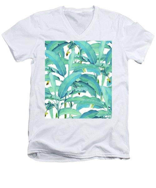 Banana Forest Men's V-Neck T-Shirt