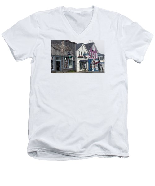 Bar Harbor Men's V-Neck T-Shirt
