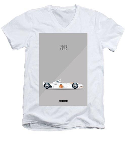 Bar Honda 003 F1 Poster Men's V-Neck T-Shirt