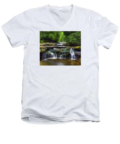 Bark Creek #1 Men's V-Neck T-Shirt