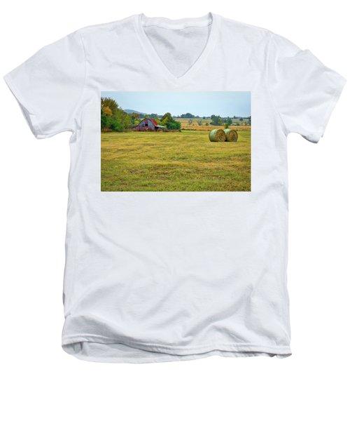Barn And Field Men's V-Neck T-Shirt