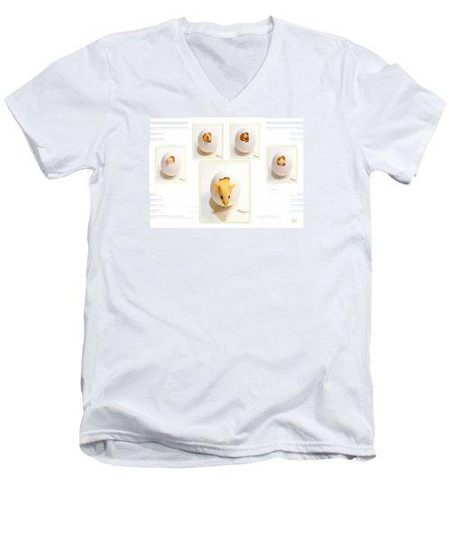 Barn Mouse Men's V-Neck T-Shirt