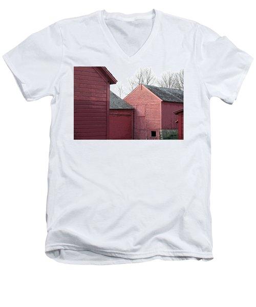 Barns Men's V-Neck T-Shirt